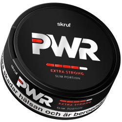 Skruf PWR Extra Strong Slim Portion - Snussidan