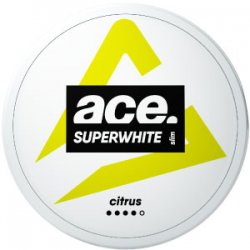 Ace Citrus All White Portion - Snushallen