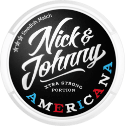 Nick and Johnny Americana Portion Extra Strong - Snushallen