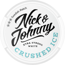 Nick and Johnny Crushed Ice White - Snushallen