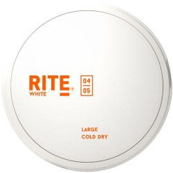 Rite White Cold Dry LARGE - Snushallen