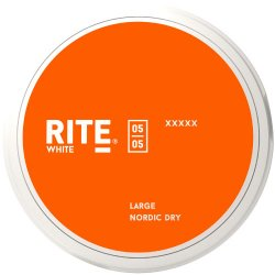 Rite White Nordic Dry LARGE - Snushallen