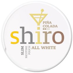 Shiro All White Slim Pina Colada - Snushallen