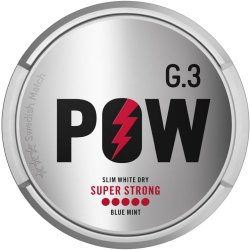 G.3 Pow Super Strong - Snussidan