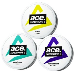 Mixpack Ace Superwhite #1 - Snussidan