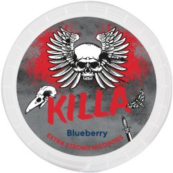 Killa Blueberry Extra Strong All White - Snussidan