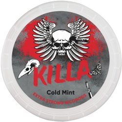 Killa Cold Mint Extra Strong All White - Snussidan