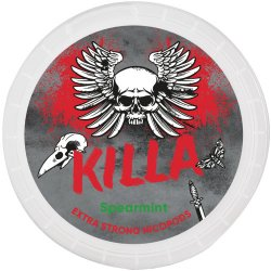 Killa Spearmint Extra Strong All White - Snussidan