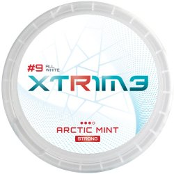 Xtrime Arctic Mint Strong All White - Snussidan
