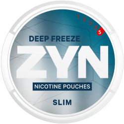 ZYN Deep Freeze 5 Slim - Snussidan