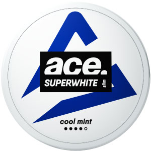 Ace Cool Mint All White Portion - Snushallen