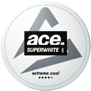 Ace Extreme Cool All White Portion - Snushallen
