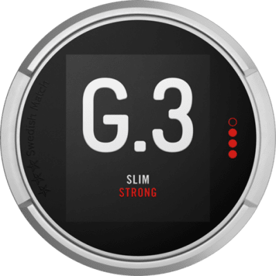 G.3 Slim Portion Strong - Snushallen