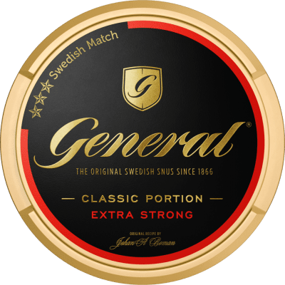 General Extra Strong Portionssnus - Snushallen