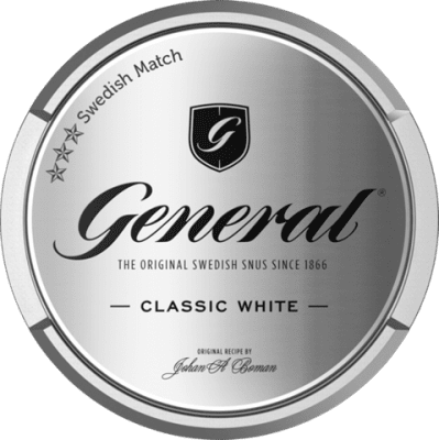 General White Portionssnus - Snushallen