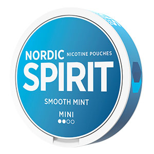 Nordic Spirit True White Smooth Mint Mini - Snushallen