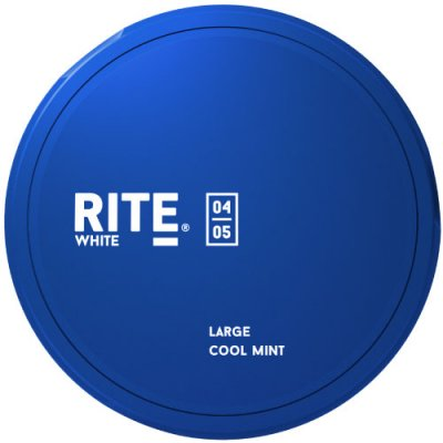 Rite White Cool Mint LARGE - Snushallen