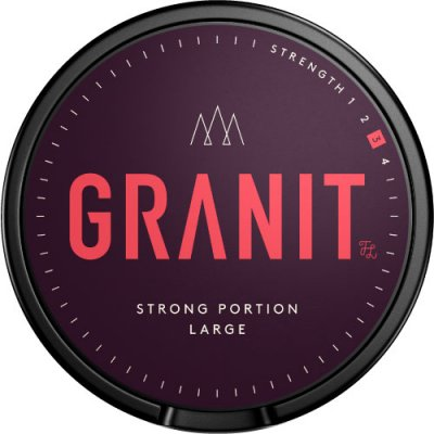 Granit Strong Portionssnus - Snussidan